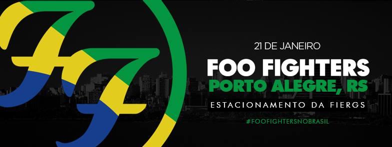 EXCURS�O SC E CURITIBA SHOW DE FOO FIGHTERS EM S�O PAULO.