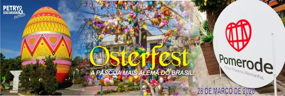 EXCURSÃO PARA OSTERFEST EM POMERODE SC.