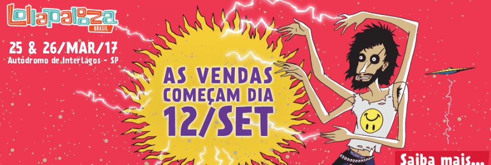 EXCURS�O PARA LOLLAPALOZZA BRASIL 2017