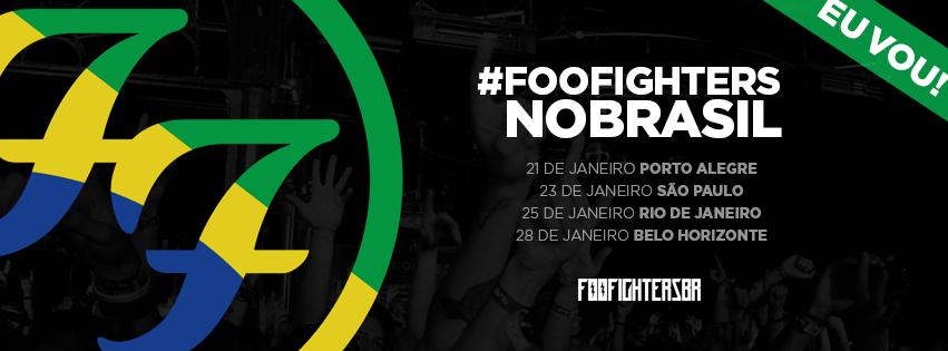 EXCURS�O PARA SHOW DE FOO FIGHTERS EM PORTO ALEGRE.