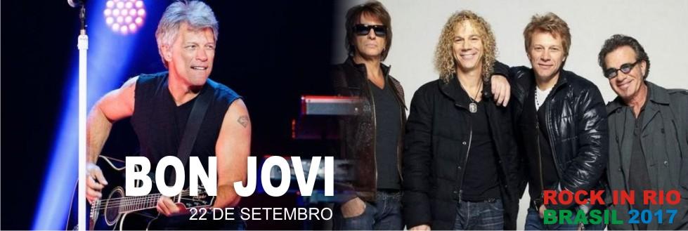 EXCURSÃO PARA BON JOVI NO ROCK IN RIO 2017. APROVEITE!