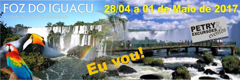 ECURSÃO PARA FOZ DO IGUAÇU